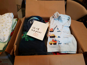 AWESOME DEAL BOYS 12-18 MONTH CLOTHING LOTS
