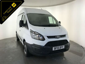 2015 FORD TRANSIT CUSTOM 270 ECO-TECH 1 OWNER FORD SERVICE HISTORY FINANCE PX