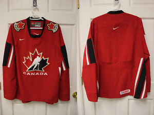 Red Nike Team Canada Jersey