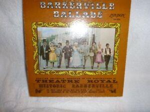 LP RECORD  BARKERVILLE BALLADS