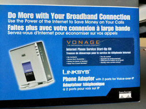 Linksys Voip adapter PAP2