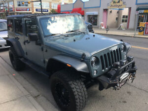 2015 Jeep Wrangler Safari unlimited SUV, Crossover
