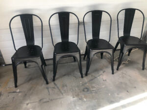 Brand new set of 4 dining chairs
