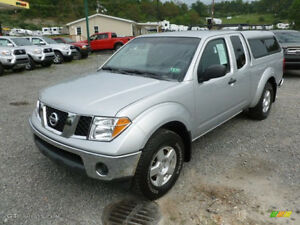 2006 nissan frontier se king cab-4X4-DRIVE EXCELLENT-WITH CANOPY