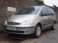 Ford Galaxy 1.9TDi Diesel Automatic (115ps) Zetec 2005(54) 7 seat MPV