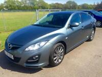 MAZDA 6 D VENTURE EDITION, ONE OWNER, FSH, Grey, Manual, Diesel, 2012