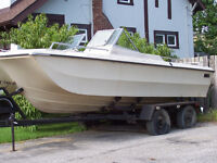 Boat trailer - comes with free boat