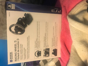 Racing wheel 3 for PS3