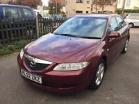 MAZDA 6 2.0 LOW MILEAGE 2 OWNERS SHORT MOT**CHEAP**