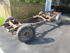 Willys Pickup Chassis...last chance before i cut it up