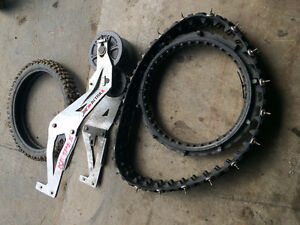 Snow track kit for a Dirtbike universal fit
