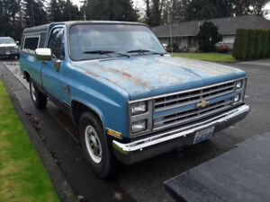I Need a 1985 Chevy 3/4 Hauled From Chilliwack B.C. to Edmonton