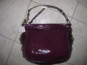 Authentic COACH bag, model: ZOE, great patent material