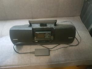sat radio & blaster