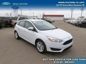 2016 Ford Focus SE   - $130.27 B/W - Low Mileage