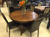 Liquidation dining table starting from $499