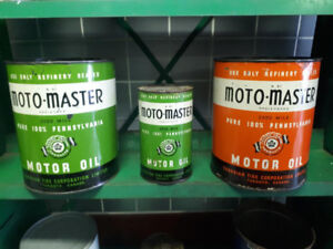 Moto Master Oil Cans