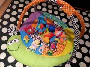 Play mat and amazing toys!