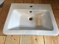 Bathroom wall hung sink NEW Victoria Plumb