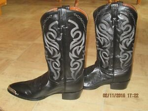 Brand New Black Cowboy Boots