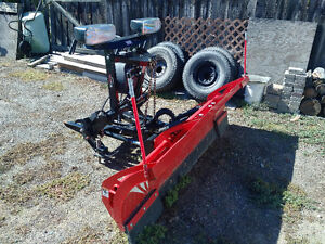 02 Dodge Diesel 4x4 with Western Wideout Plow Williams Lake Cariboo Area image 4
