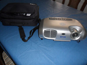 Epson Power Lite S1 Plus Presentation LCD Projector with Case