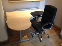 IKEA desk and Nice day office chair