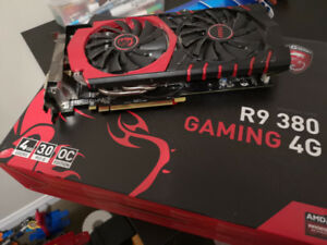 Selling Used MSI Radeon R9 380 GAMING 4G