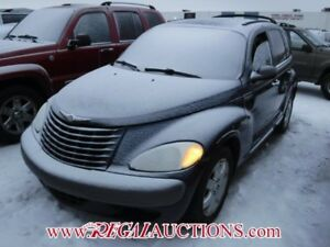 2003 CHRYSLER PT CRUISER BASE 4D HATCHBACK BASE