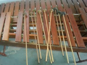 Rare Guatamelan/Mexican Marimba and mallets London Ontario image 2