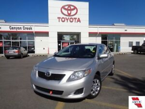 2010 Toyota Corolla CE AUTO PWR EVERYTHING LOW MILEAGE