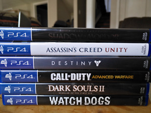 Cheap PS4 games ($110 for all 7)