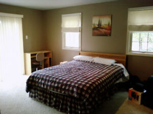 Clean large room with privacy and parking