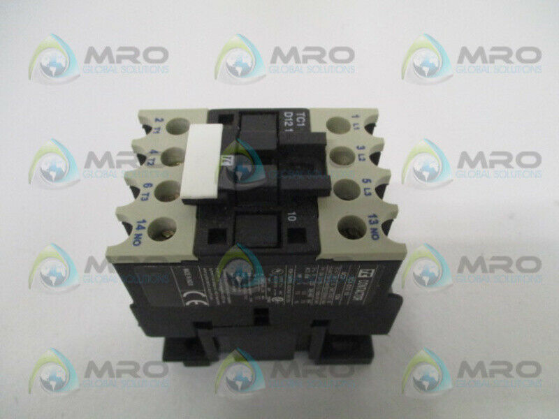 SHAMROCK CONTROLS TC1-D1210-B7 CONTACTOR 24V *NEW NO BOX*