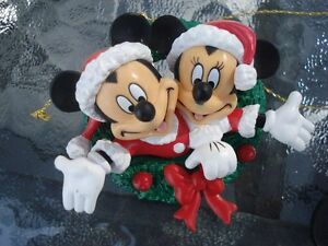 ornement sapin de Noel Disney World 2 Mickey Mouse
