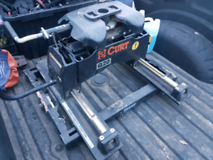 fifth wheel hitch adapter underbed system