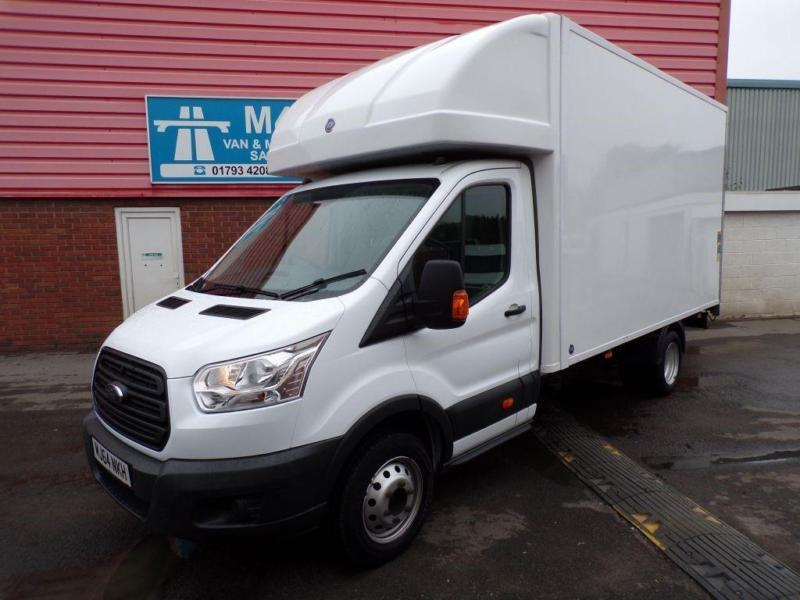 Ford Transit 350 LWB LUTON WITH TAIL LIFT 100PS