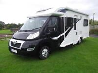 2014,BAILEY APPROACH AUTOGRAPH 740, 4 BERTH, LOW PROFILE, FIXED BED, IMMACULATE