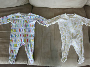 Size 0-3 Months Unisex Children's Place Sleepers