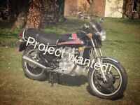 Motorbike project wanted- FREE
