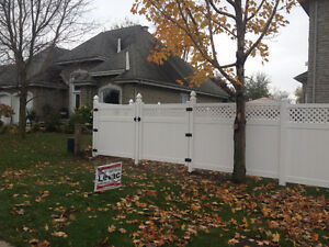 PVC Fence year end Sale Gatineau Ottawa / Gatineau Area image 3