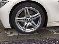 """18"""" BMW 3 series (f30) Alloy winter wheels and tyres"""