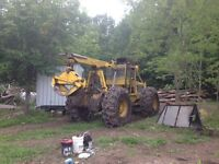 Clark 667F grapple/cable skidder