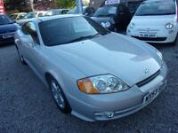 HYUNDAI COUPE 2.0 coupe 2003 Petrol Manual in Silver