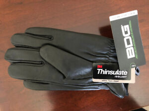 Thinsulate leather gloves