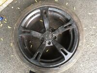 BMW alloys withs with tyres x2 only