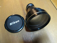 Nikon teleconvertor lens for older coolpix cameras