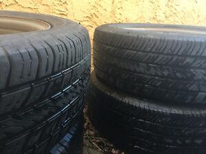 P195/60 R15 - Four Tires