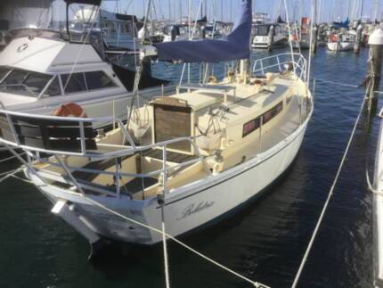"Yacht, 31ft Colin Childs Kingfisher ""Bellatrix"""
