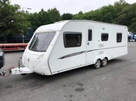 2009 Swift Charisma 610 4 Berth caravan FIXED ISLAND BED, FULL AWNING Bargain!
